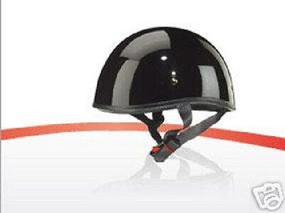 Zox Helmet old school Beanie Glossy Black DOT Size Medium-XX-Large New