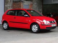Volkswagen Polo 1.2S (52) Red 3dr Absolutely Immaculate FSH New MOT Very low insurance