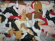 Farmyard Fabric