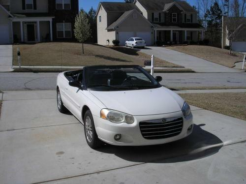 2004 chrysler sebring convertible ebay. Black Bedroom Furniture Sets. Home Design Ideas