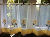 Voile Cafe Net Curtain