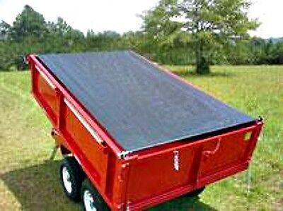 Dump Trailer Tarp System 7' x 16' Manual Dump Truck