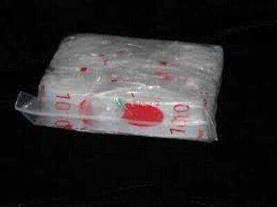 1000pc 1 X 1 2 Mil Clear Plastic Zip Lock Bag Zipper Lock Bag Reclosable