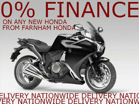 Honda VFR1200F, Brand New & Unregistered, 0% Finance Offer