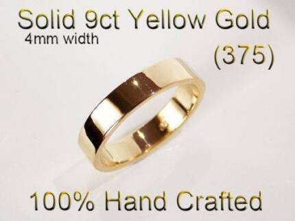 9K & 18K Gold Ring Wedding Engagement Friendship Ladies + Gents Brighton-le-sands Rockdale Area Preview