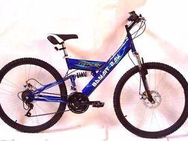 "Stealth Bandit 2DK 26"" Mountain Bike. Brand New."
