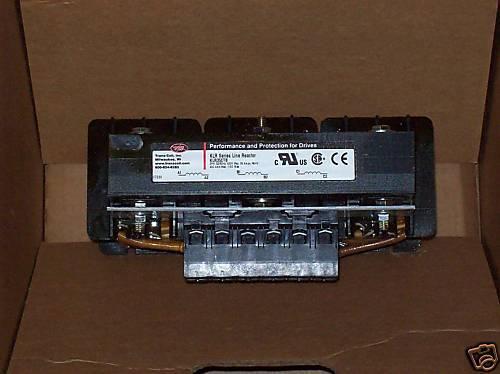 KLR SERIES LINE REACTOR KLR35CTB 3 PH 35 AMPS NIB