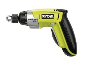 Advanced Ryobi Power Tools CSD-4107BG Screwdriver 4 Volt + 6Pc Acc 1 x 1.2Ah Li-Ion .. BRAND NEW.