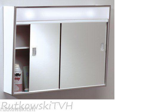 Illuminated Mirrored Bathroom Cabinet Ip44 Rated: Lighted Medicine Cabinet