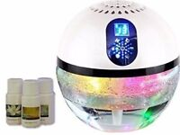 Aironic Air Purifier with Ioniser, Digital Touch Panel, Colour Changing LED