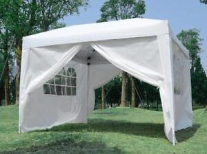 SALE || NO TAX || FREE SHIPPING OR GTA PICK UP @ WWW.TRENDALS.COM || 10x10 ft Easy Pop Up Wedding Party Pavilion Tent