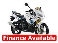 125cc Sportsbike Sports Bike Motorcycle Lexmoto XTR 125 Leaner Legal *FINANCE*