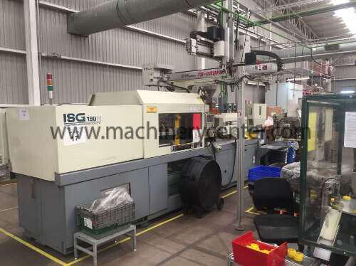 190 Ton, 8 Oz. Toshiba Injection Molding Machine