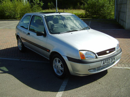 2002 ford fiesta 1 3 flight 3 door metallic silver in blackwood caerphilly gumtree. Black Bedroom Furniture Sets. Home Design Ideas