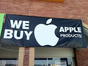 WE BUY ALL MACBOOK PRO,AIR,IMACS,MAC MINI,IPADS,IPHONES,LAPTOPS