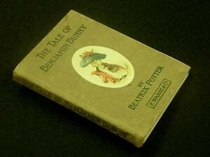 POTTER-BEATRIX-The-Tale-of-Benjamin-Bunny-First-Edition-1904