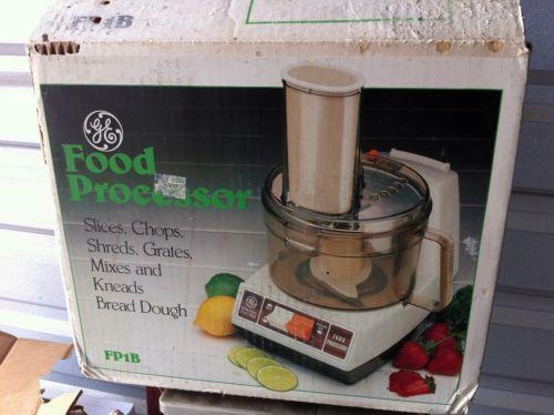 Ge Food Processor Ebay