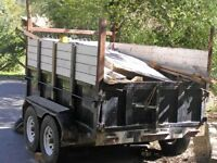 Junk Removal Fill the truck $90 Fill the Dump Trailer $160