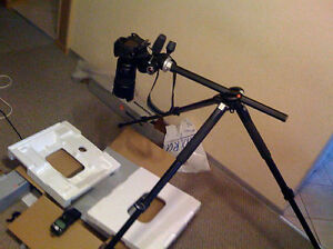 MANFROTTO 055XPROB DSLR TRIPOD 804RC2 HEAD **MADE IN ITALY **