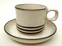 Denby cups and saucers in new condition