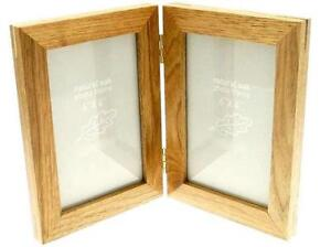 Wooden Double Photo Frames