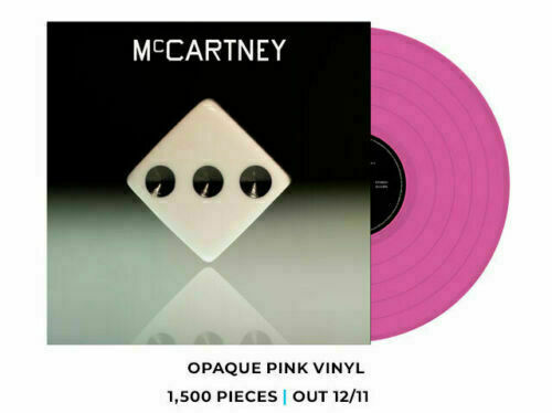 MCCARTNEY III Pink Vinyl & White Vinyl Lp