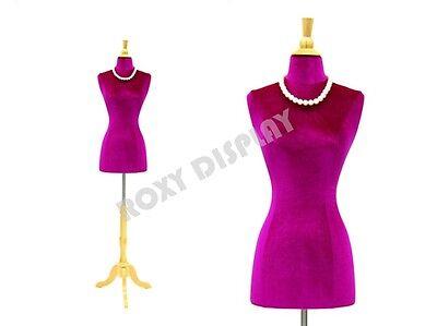 Female Size 2-4 Jersey Form Mannequin Dress Form Jf-f24w-purple Bs-01nx
