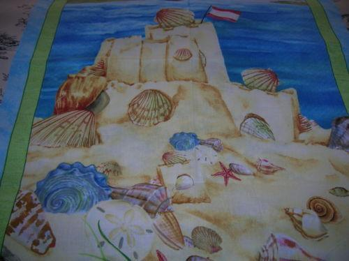 Seashell Fabric Ebay