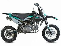 STOMP SS 120R PIT BIKE, NEW, KIDS MOTORBIKE, CHILDS MOTORBIKE, KIDS DIRT BIKE, MOTOR BIKE.