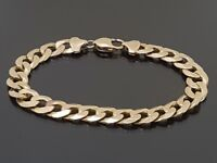 9ct solid gold bracelet 30g 9inch