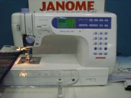 Janome 6500p  Orange Orange Area Preview