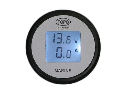 Lcd Volt Amp Metergaugemonitor200abattery Monitorsolarautorvboathho
