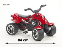 Falk Pedal Ride-On Quad Bike Pirate Red suitable for 3-5 year olds