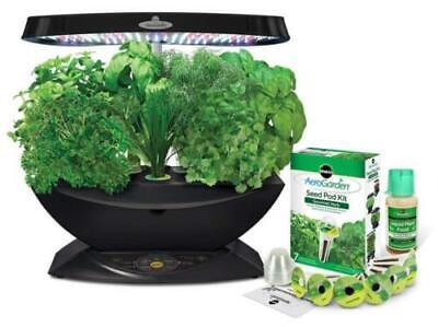 AeroGarden 7 LED Indoor Garden with Gourmet Herb Seed Kit Hydroponics