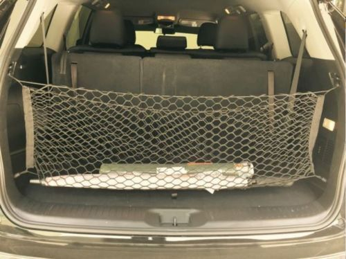 1X Universal Rear Cargo Trunk Storage Organizer Net for Car plus mounting points