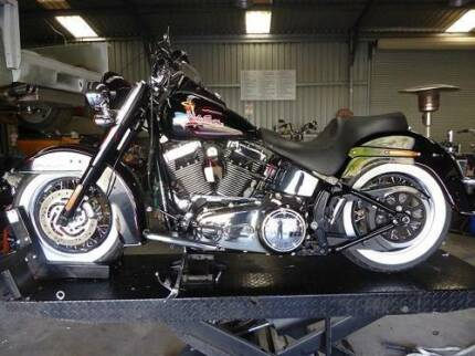 HARLEY DAVIDSON 2010 SOFTAIL DELUXE