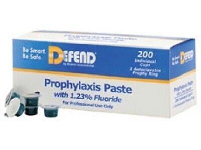 Defend Prophy Paste Medium Grit Assorted Flavored With Fluoride 200box