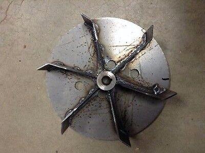 """Trac-Vac Trac Vac Leaf Vacuum Bagger Bag Impeller Fan 14"""" Turbine Part # 46253"""