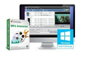 AnyMP4 DVD & any Video to MP4 Converter { MPEG, ASF, AVI, FLV, M2TS, MOV} to mp4 Asf Mpeg Converter