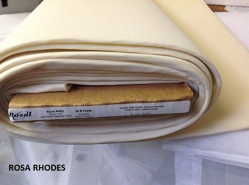 in r form double sided fusible foam