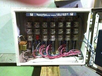 Bridge Crane Control Panel Box w/Inverters, Electrical wiring w/Remote Control