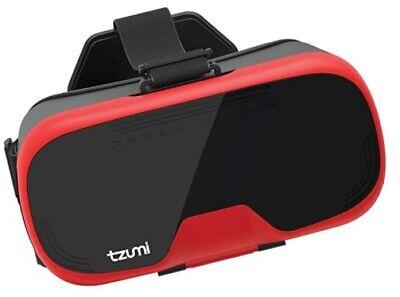 Tzumi Dream Vision Virtual Reality Smartphone Headset 360 Video Capability NEW