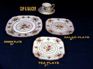 ROYAL ALBERT CHINA - PETIT POINT