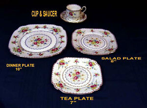 ROYAL ALBERT - PETIT POINT