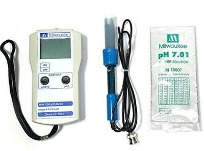 Milwaukee Mw100 Smart Ph Meter Low Cost Portable Tester Sm100