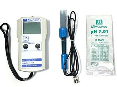 Milwaukee Mw100 Smart Ph Meter W Se220 Probe More Portable Tester Sm100