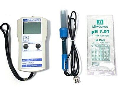 Milwaukee Mw100 Smart Ph Meter W Se220 Probe More Portable Tester Sm100