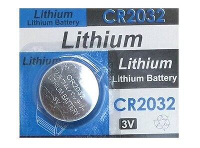 3 Volt CR2032 CR 2032 DL2032 BR 2032 Lithium Button Cell Battery Remote USA Ship 2032 Lithium Cell Button