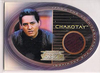 Komplettes Star Trek Voyager Kostüm Karte CC3 Chakotay (Star Trek Voyager Kostüm)