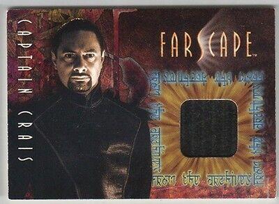 Farscape Season 1 Capt. Crais Costume Material Card C6